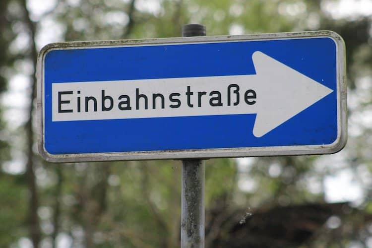 Photo of Weststraße wird auf Wunsch der Anlieger Einbahnstraße