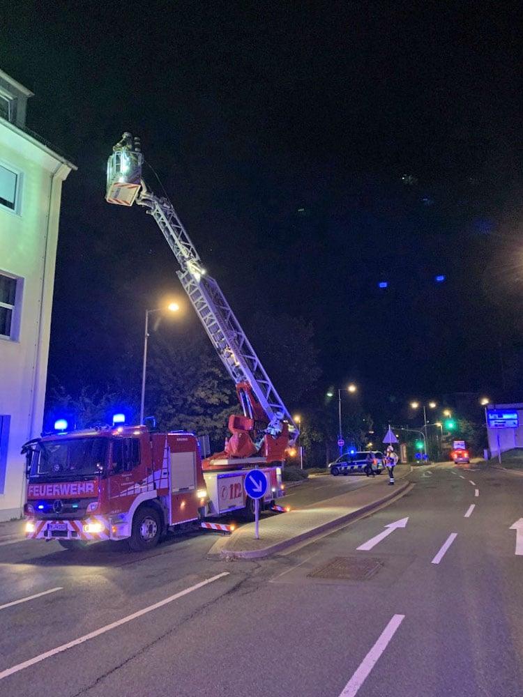 Photo of Brandgeruch im Umfeld der Polizeiwache in Lüdenscheid