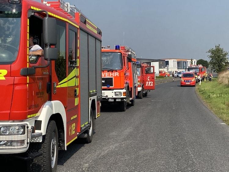 Photo of Brand eines Industriebetriebs sorgt für Großeinsatz
