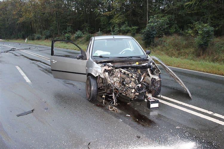 Photo of Verkehrsunfall auf der L697 – Fahrzeuginsassen leicht verletzt
