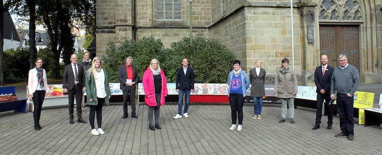 Photo of 14 Besucherbänke in Warstein aufgestellt