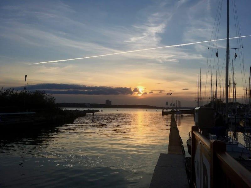 Urlaub an der deutschen Ostsee ist im Herbst/Winter auch sehr schön.