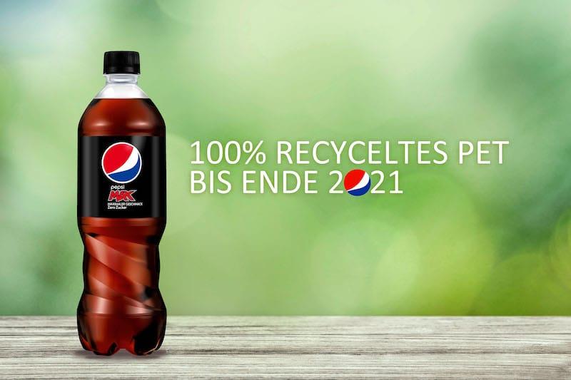 Photo of Nachhaltig: PepsiCo stellt auf Flaschen aus 100 Prozent recyceltem Plastik um