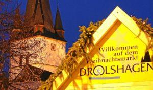 Weihnachtsmarkt in Drolshagen am 15. und 16. Dezember